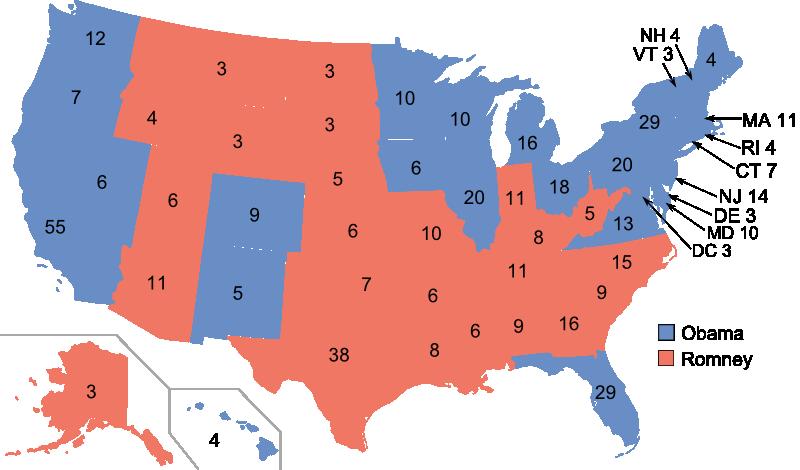 us präsidentschaftswahl ergebnisse