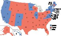 Hochrechnung Präsidentenwahl Usa